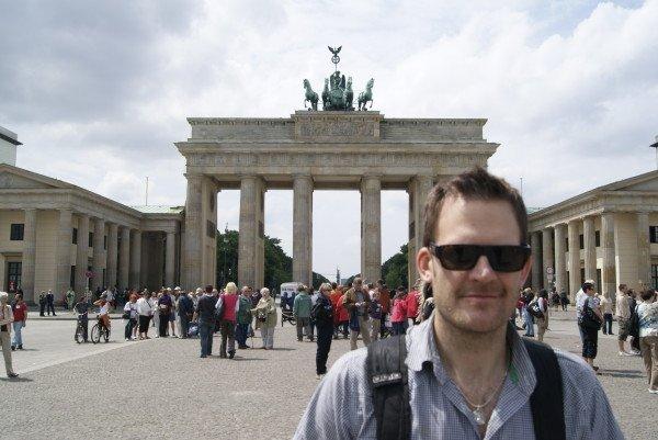 Artist John Ross Palmer in Berlin, Germany