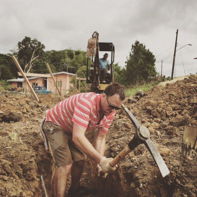 John Ross Palmer in Port of Spain, Trinidad & Tobago.