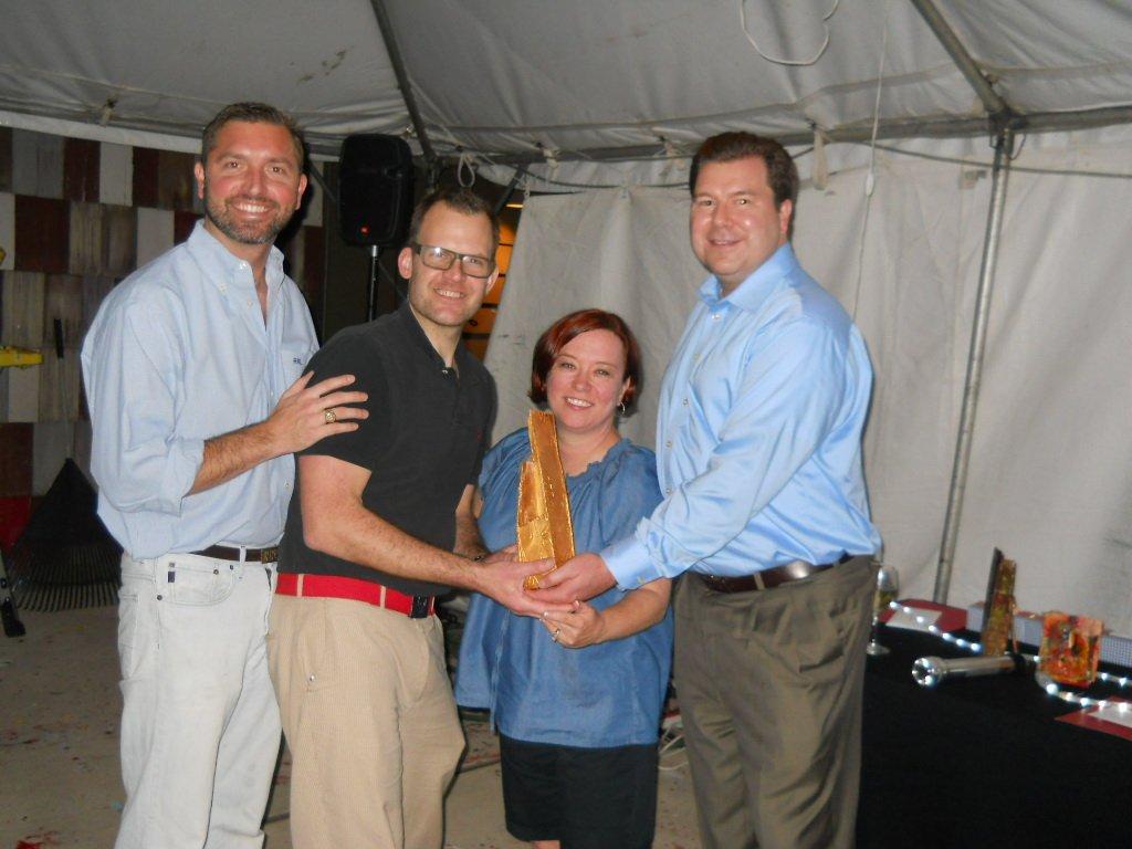 Ryan Lindsay, John Ross Palmer, Janet & Brian Franklin
