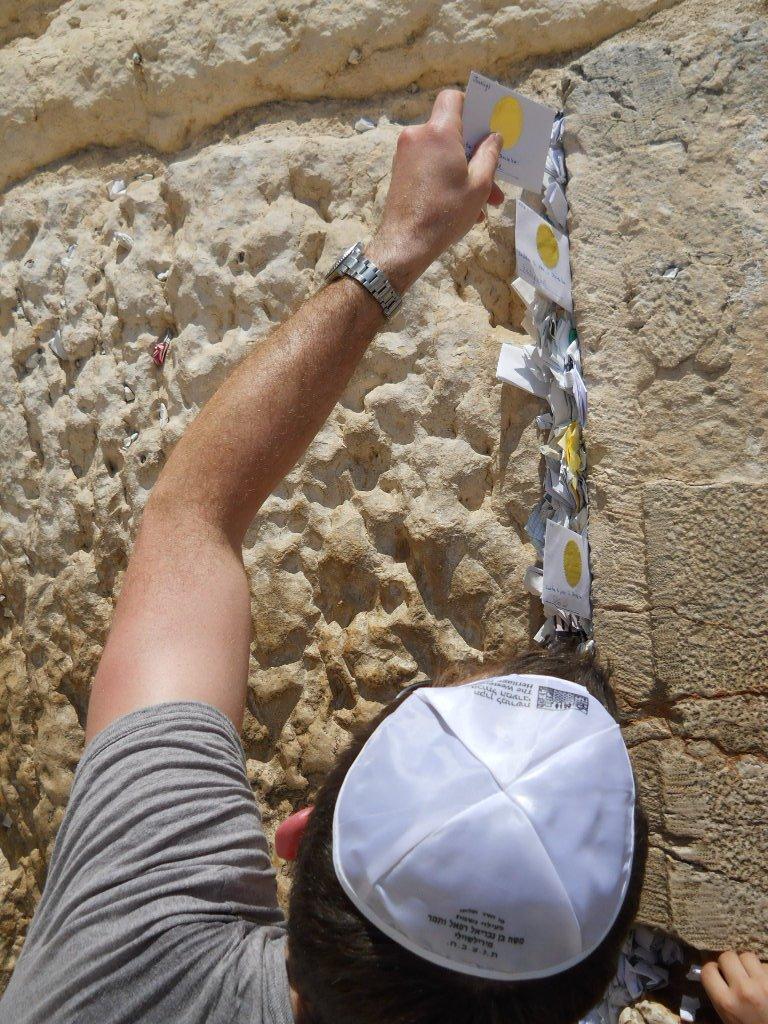 John Ross Palmer in Jerusalem, Israel.