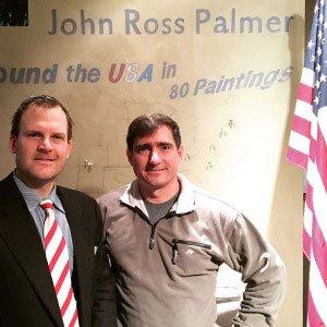John Ross Palmer with LVSA Executive Director Chuck Bagnato