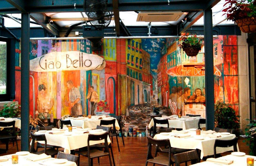Ciao Bello Mural