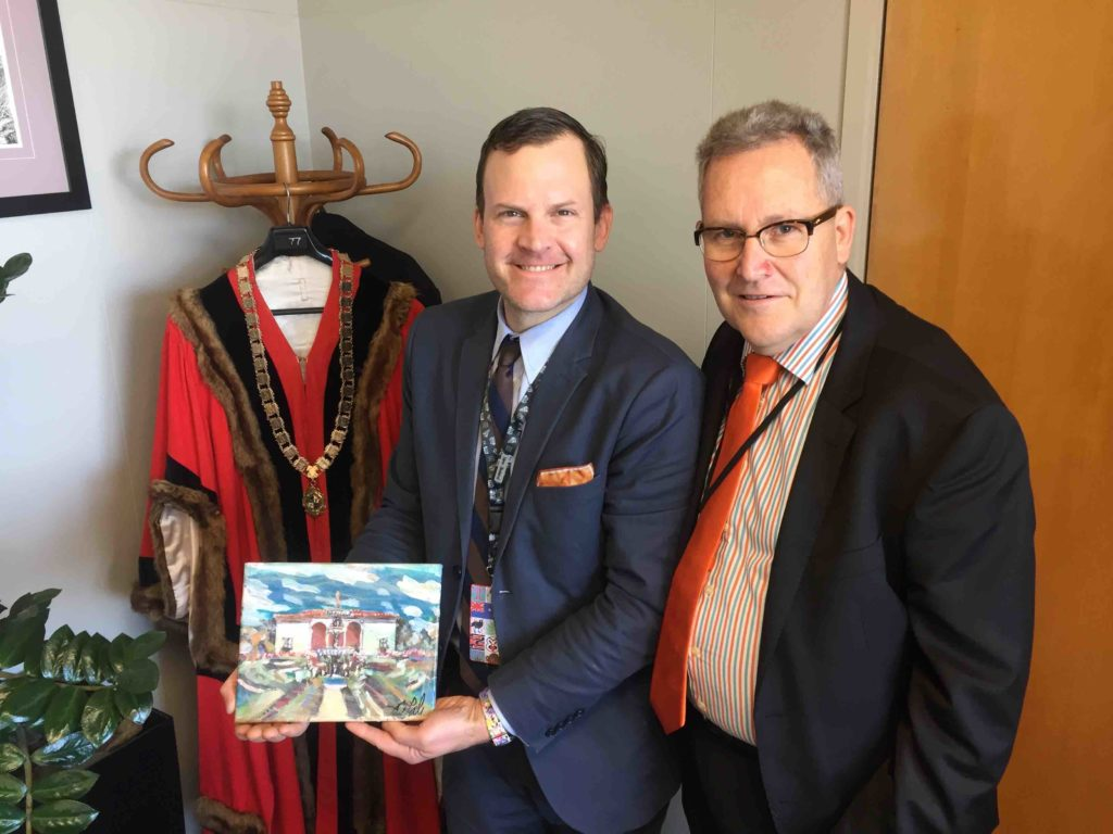 Mayor of Hamilton, New Zealand Andrew King