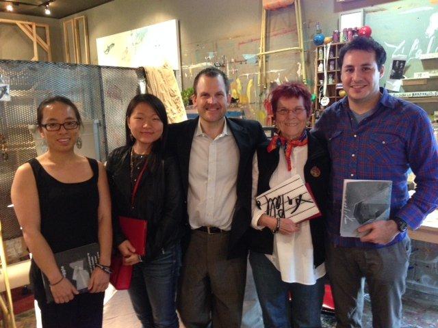 2014 Escapists Lulu Lin, John Ross Palmer, Sue Donaldson and Joseph Reinholtz