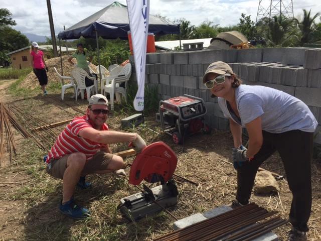 John Ross Palmer & Vivien Azer in Trinidad & Tobago
