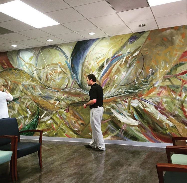 Sickle Cell Clinic Mural