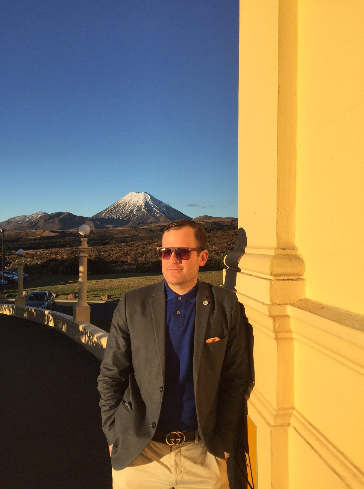 John Ross Palmer trip to New Zealand