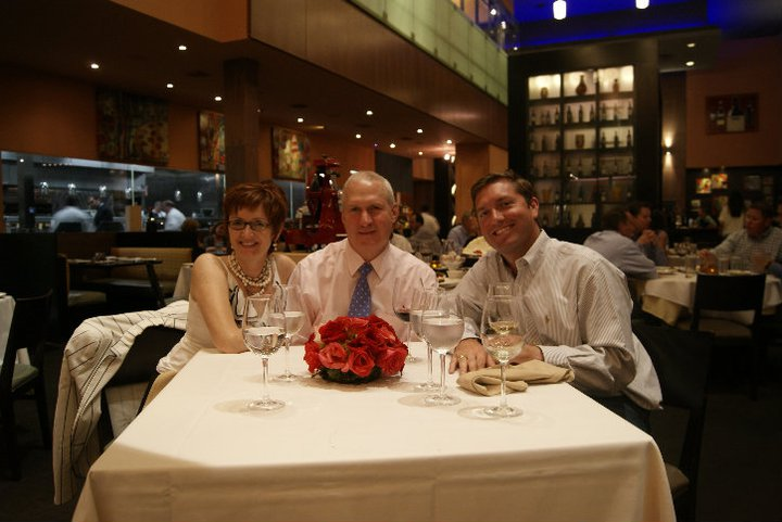 Laura and Dan Pears with Ryan Lindsey