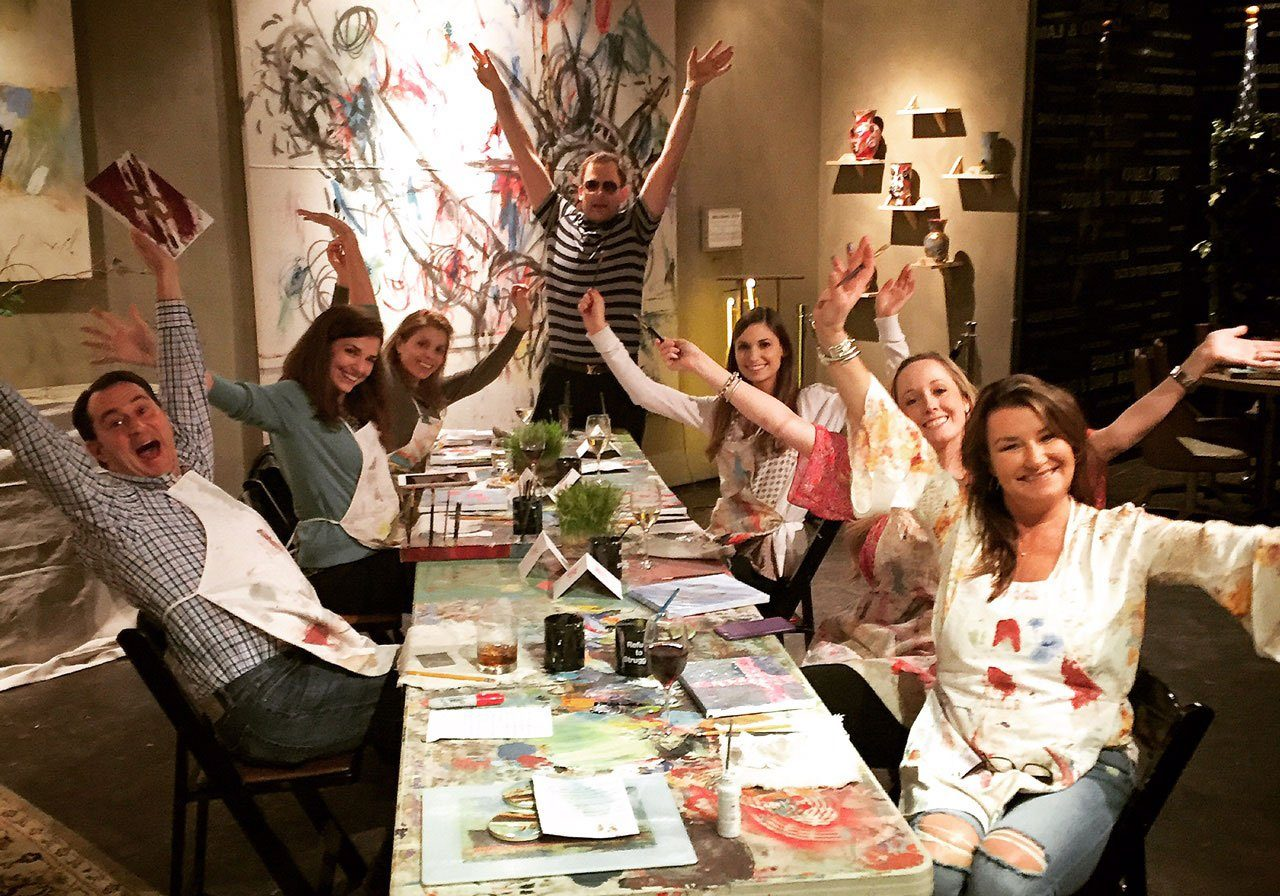 Catlett-Painting-Party